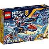 LEGO Nexo Knights Clay's Falcon Fighter Blaster 70351 Building Kit (523 Piece)