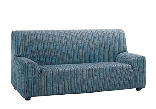 Martina Home Mejico - Funda de sofá elástica, Azul, 2 Plazas, 120 a 190 cm de ancho
