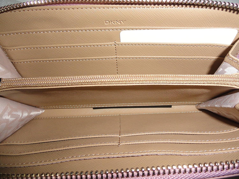 Amazon.com: DKNY Saffiano – Cuero cierre de cremallera ...