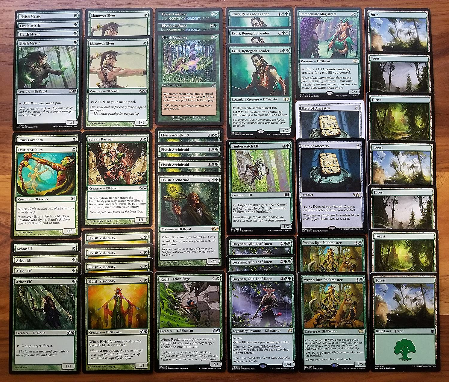 Amazon Com Magic The Gathering Green Elf Ramp Overwhelm Custom Magic Deck Toys Games Standard orzhov control decks from the best players around the world. magic the gathering green elf ramp overwhelm custom magic deck