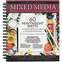 Studio Series Mixed Media Pad 8'' x 10'' (60 heavyweight sheets)