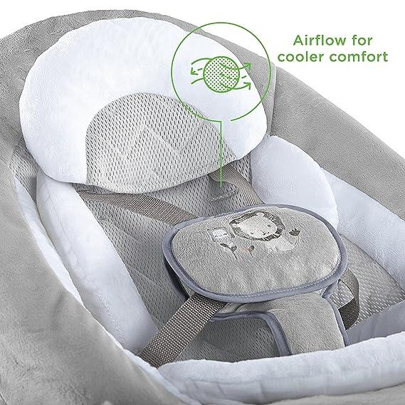 Ingenuity, Columpio con Móvil Eléctrico y Luces - Braden: Amazon.es: Bebé