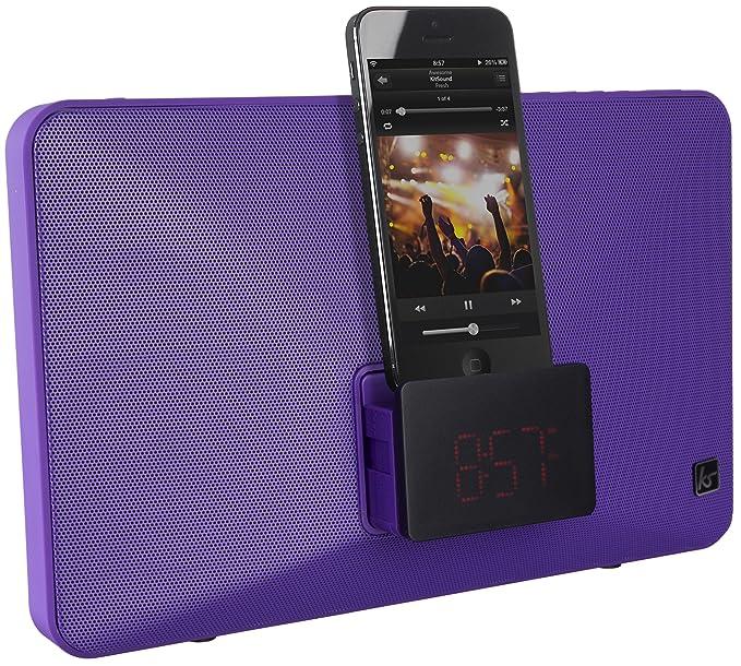 3 opinioni per KitSound KSFRESHPU- mobile device dock stations (Smartphone, Purple)