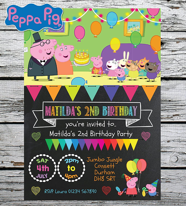 10 Personalised Kids Girl Fancy Dress Birthday Party PHOTO Invitations Invites