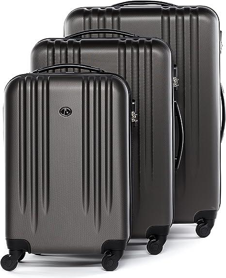 Set de 4 valises Léger Roue valise valise trolley voyage bagage Violet