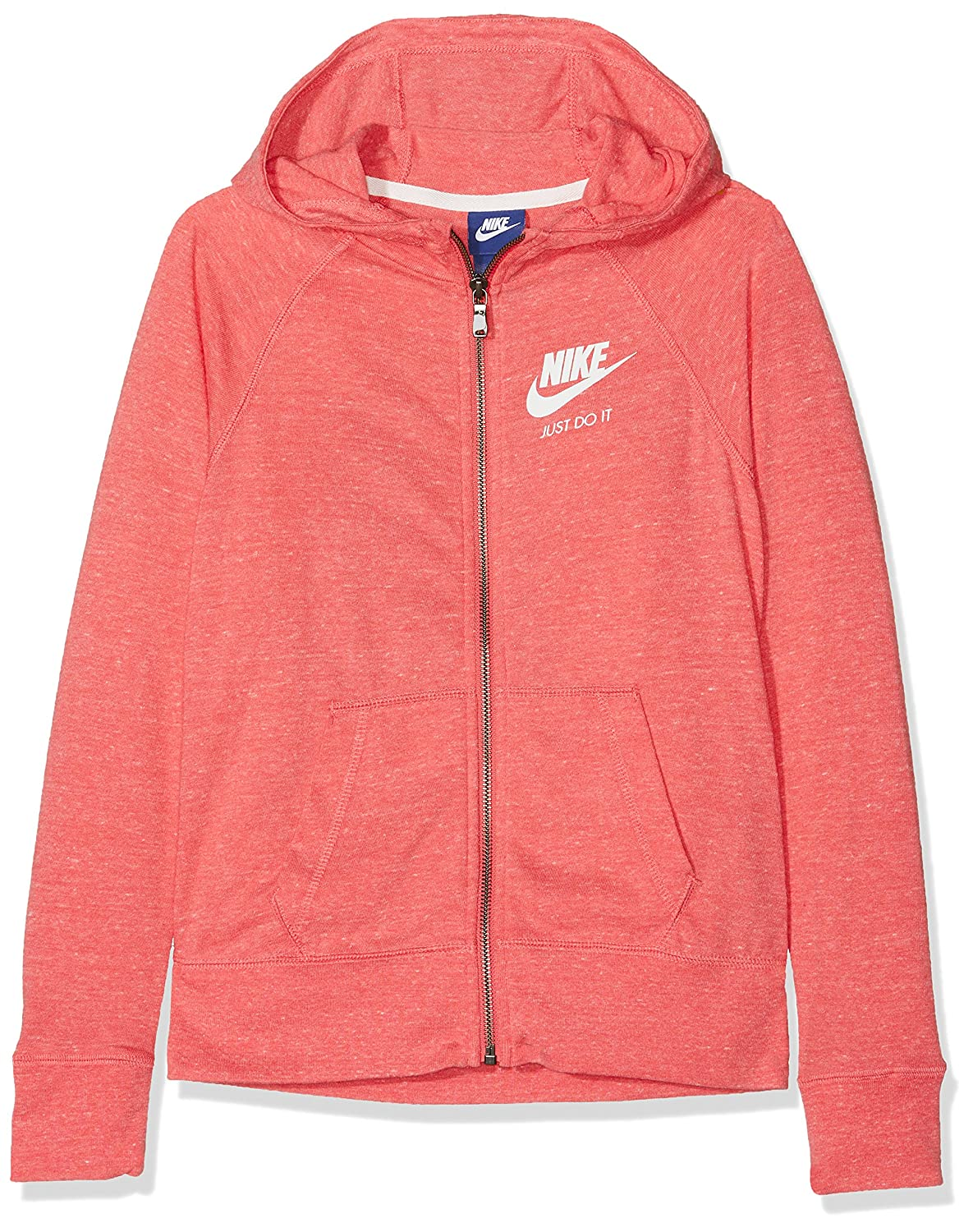 MultiCouleure - Rose (sea coral Sail) S Nike g NSW VNTG sweat à capuche FZ Sweat, Filles