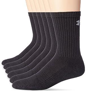 9dcafc8e85eb Amazon.com: Under Armour UA Charged Cotton 2.0 Crew Socks: Sports ...