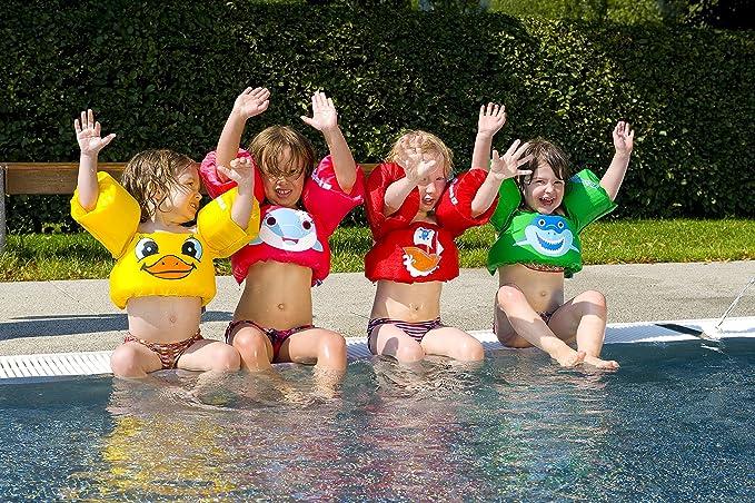 Sevylor 2000027905 Puddle Jumper, Manguitos bebé para Aprender a Nadar, Chaleco Salvavidas el complemento Ideal para niños de 2 a 5 años, de 15 a 30 kg de ...