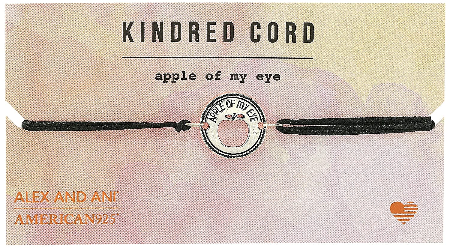 Amazon.com: Alex and Ani Kindred Cord Apple of My Eye ...