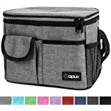 OPUX Insulated Lunch Box, Lunch Bag for Men Women | Soft Leakproof Lunchbox for Kids School Work | Reusable Thermal…