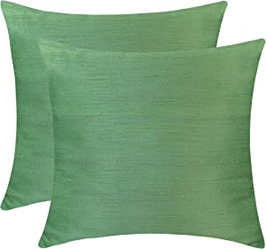 Win A Free The White Petals Light Green Euro Sham (Set of 2 Covers