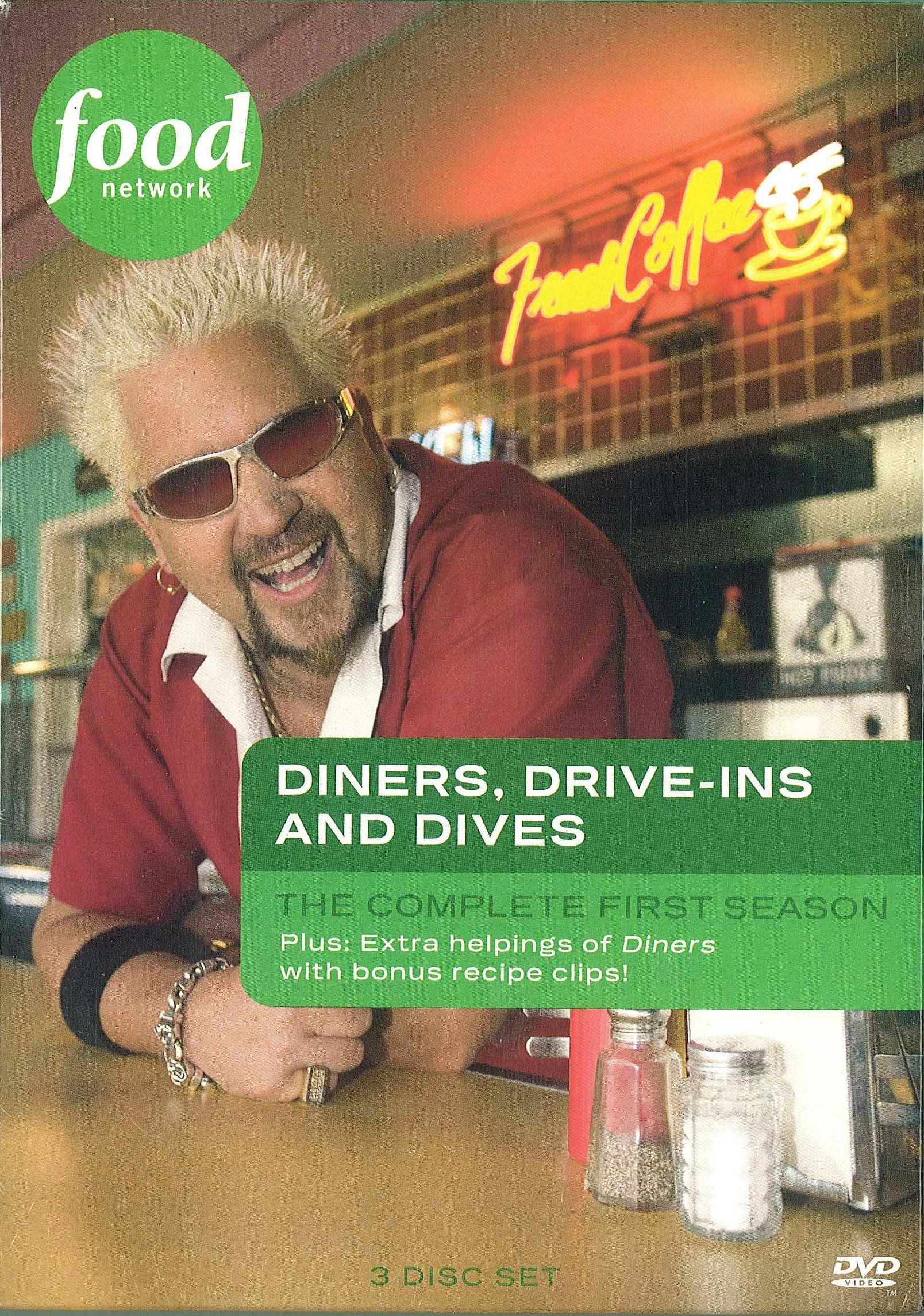 Diners, Drive-ins and Dives: Season 1 by Food Network