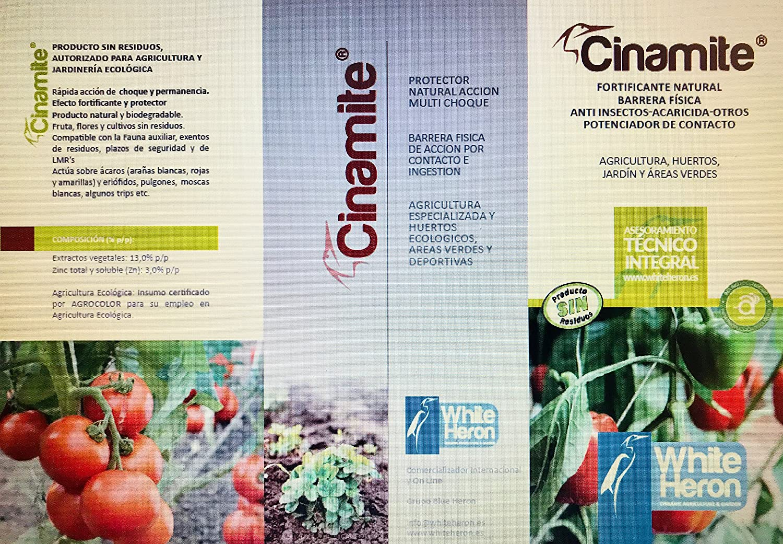 CINAMITE® (1000 m2). Insectos/Acaros/Araña; Fito-fortificante ...