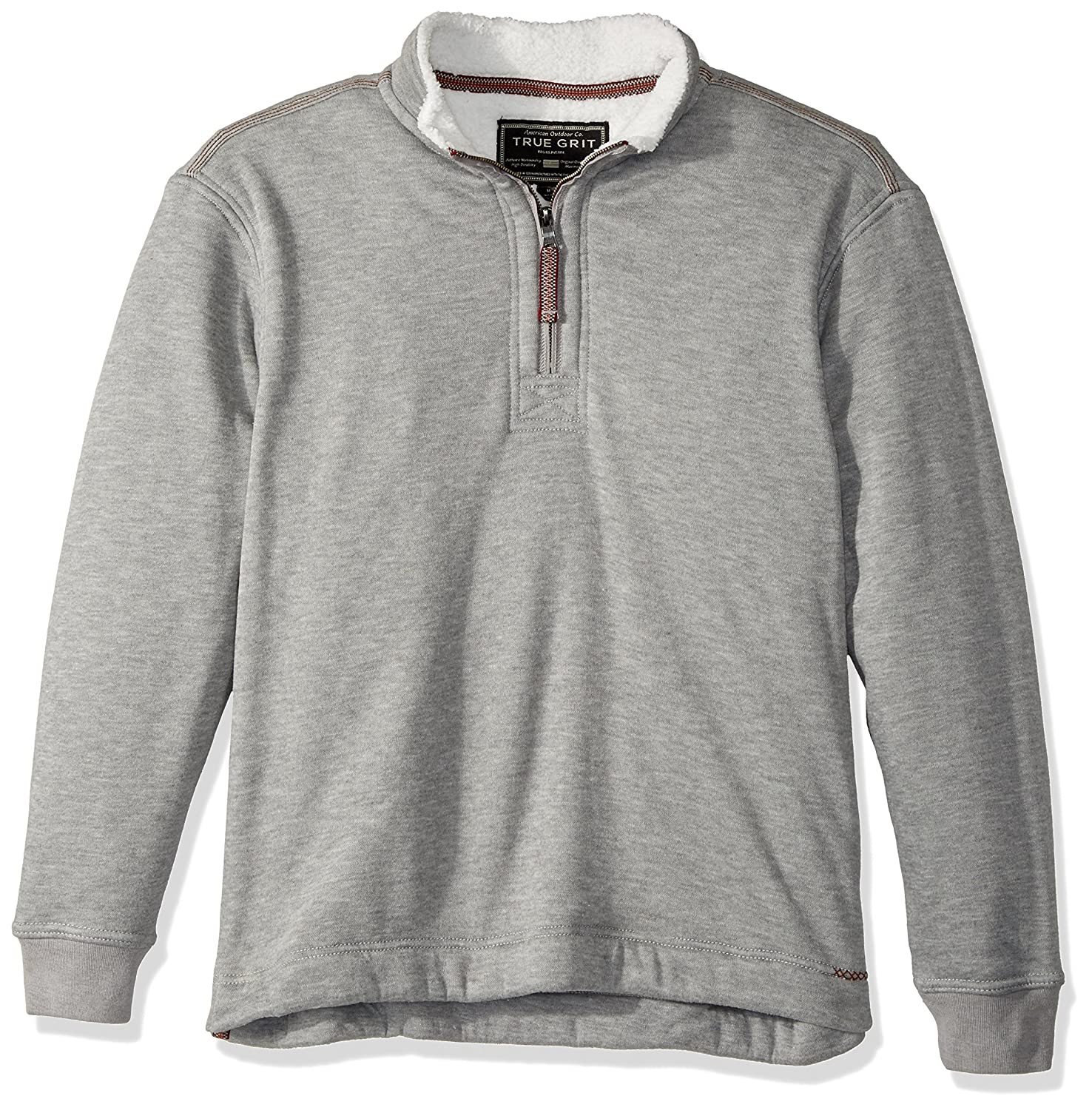 True Grit Men's Outback Fleece 1/4 Zip Pullover at Amazon Men's ...