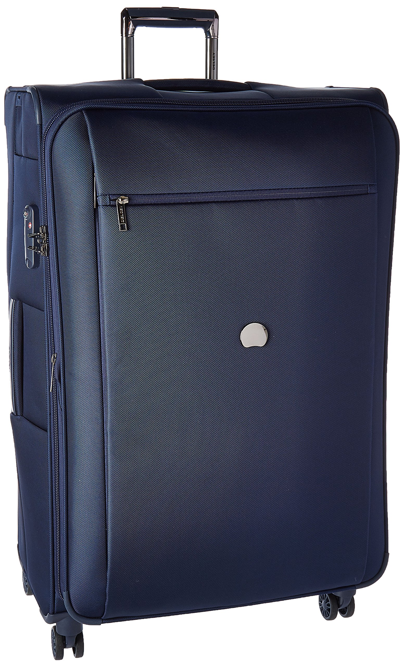 Delsey Luggage Montmartre+ 29 Inch Expandable Spinner Suitcase, Navy by DELSEY Paris