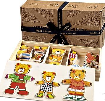 Jaques of London Formsortierung Lehruhr Holzspielzeug f/ür /über 220 Jahre Tolles Montessori-Spielzeug f/ür alle Kinder Jungen und M/ädchen 1 2 3 4-j/ährige Qualit/ät garantiert