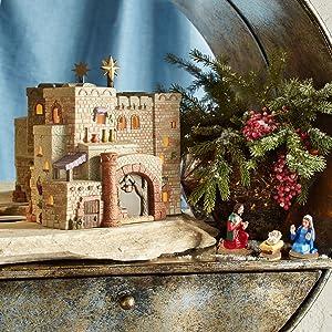 Department 56 Holy Land Little Town of Bethlehem The Inn Lit House