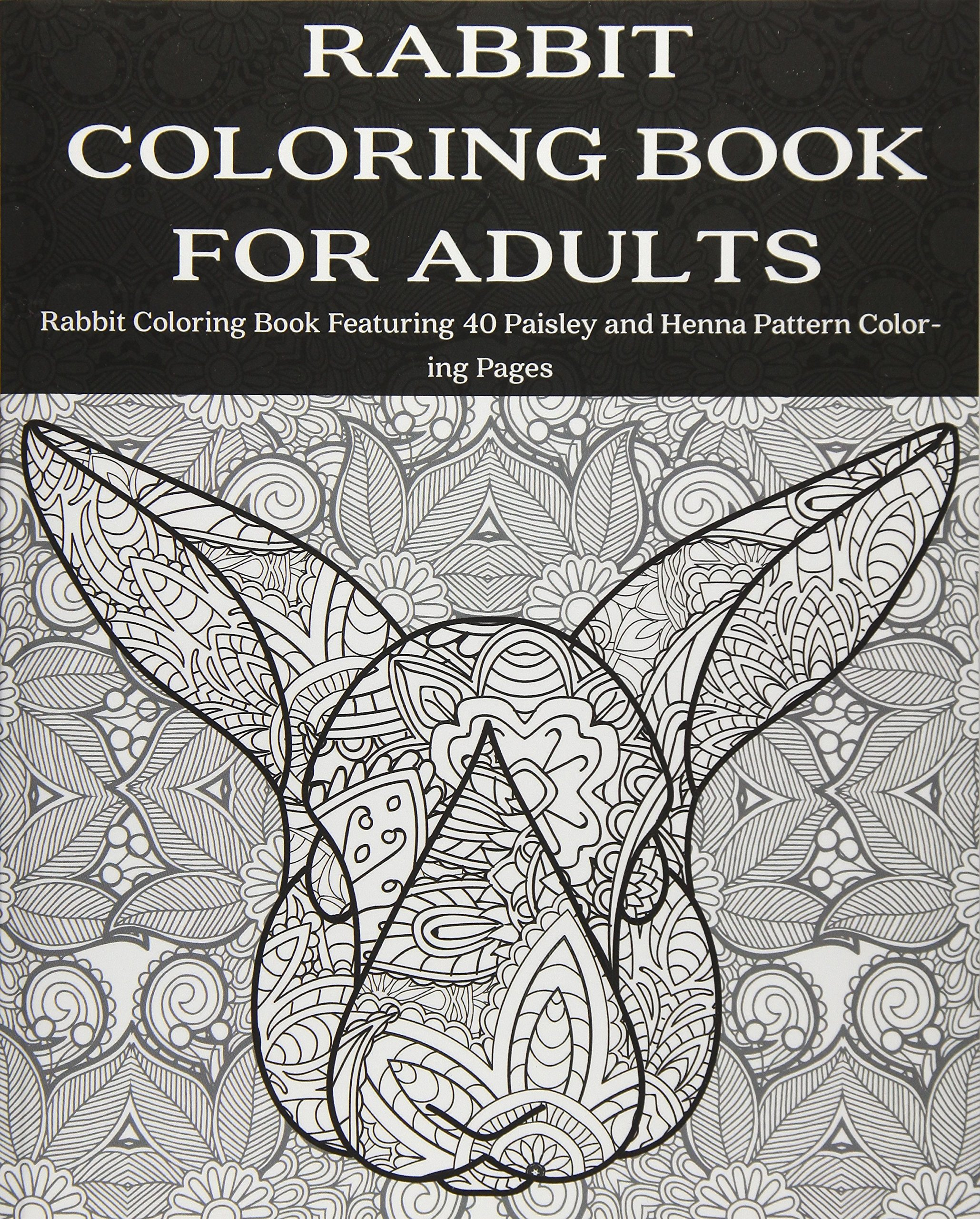 Amazon.com: Rabbit Coloring Book for Adults: Rabbit Coloring Book ...