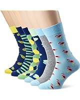 My Way Herren Socken Graphic Vibes, 6er Pack