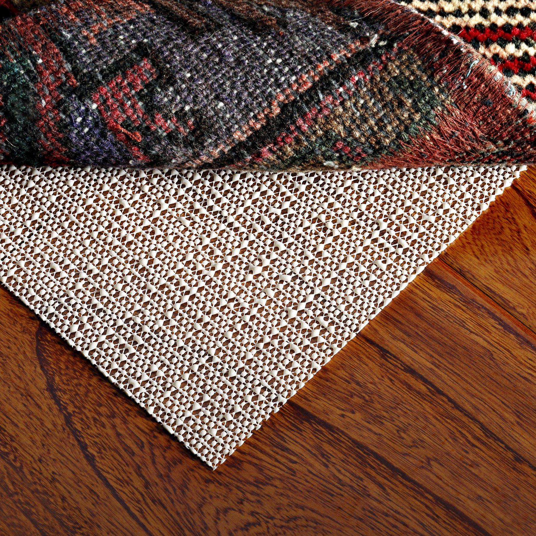 Under Rug Non Slip Pad, Rug Mat 4x6, Rug Gripper For Hard Floors,Securing Carpet On Hardwood Floor, Non Slip Pad For Mattress