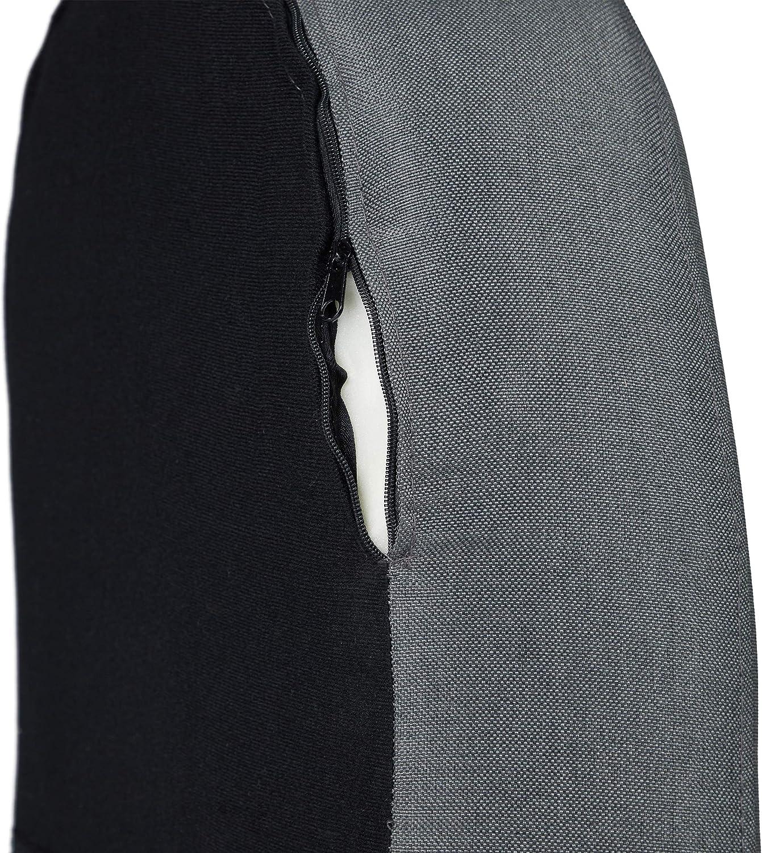 80 x 77 x 72cm Relaxdays Cocktail Retro Scandinavian Design Comfortable Fabric Cover Dark Grey Club Chair HWD: 80 x 77 x 72 cm