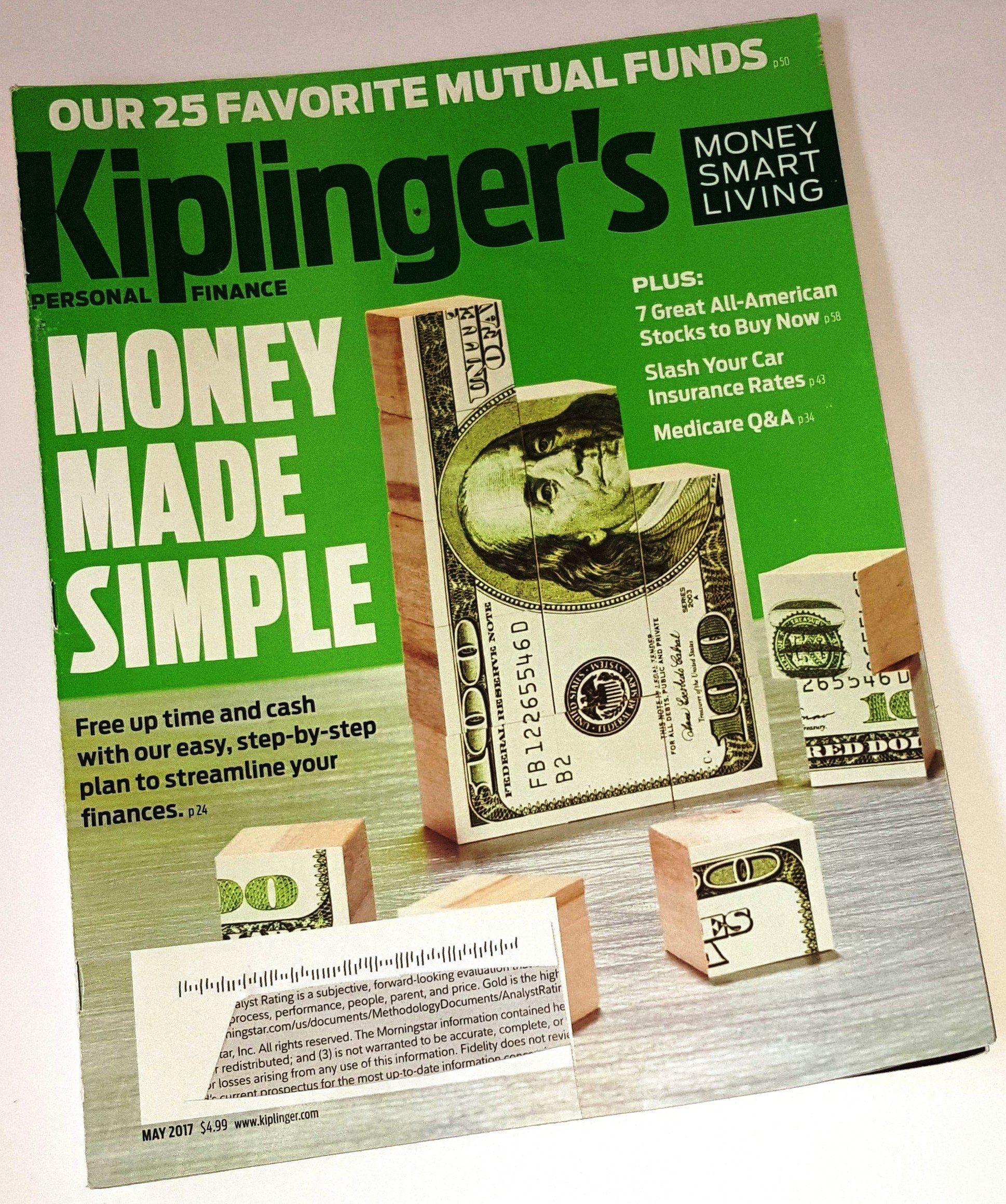Download Kiplinger's Personal Finance Magazine May 2017  Money Made Simple pdf