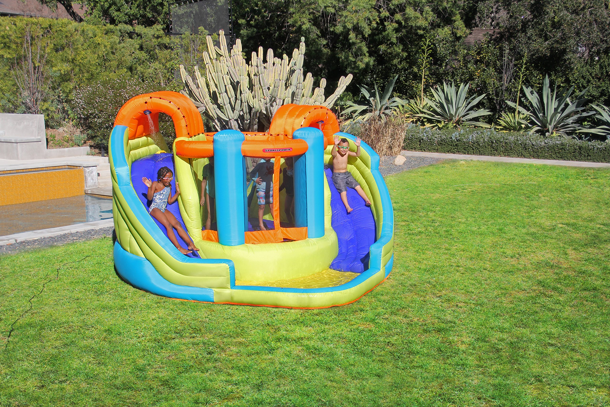 Sportspower Double Slide and Bounce Inflatable Water Slide by Sportspower (Image #2)