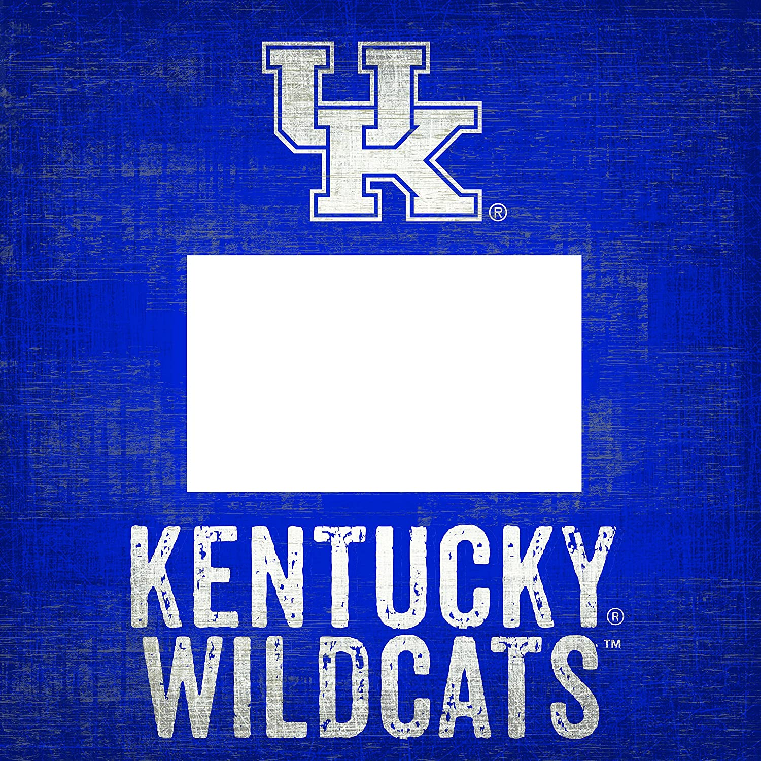Wood Photo Frame NCAA Kentucky Wildcats In This House 4 in x 6 in