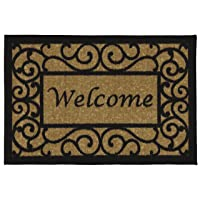 Deals on Ottomanson Ottohome Collection Rectangular Welcome Doormat