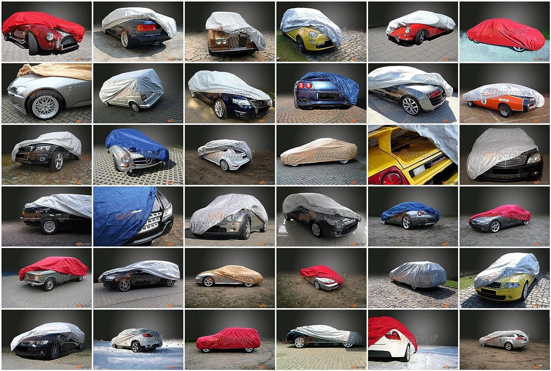 softgarage 3-lagig gr/ün indoor outdoor atmungsaktiv wasserabweisend car cover