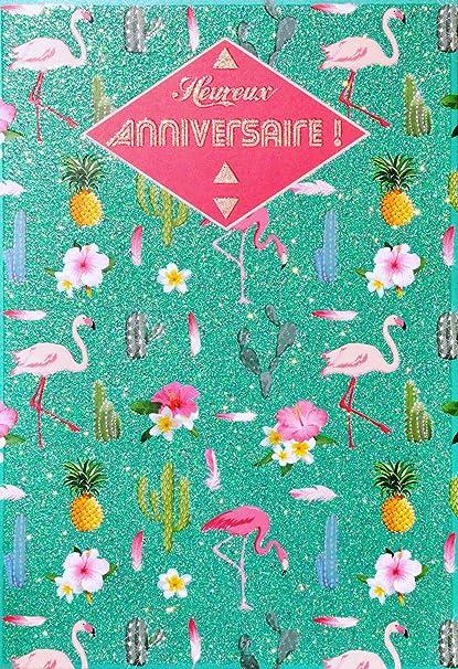 afie 69 - 4027 tarjeta feliz cumpleaños purpurina, diseño de ...