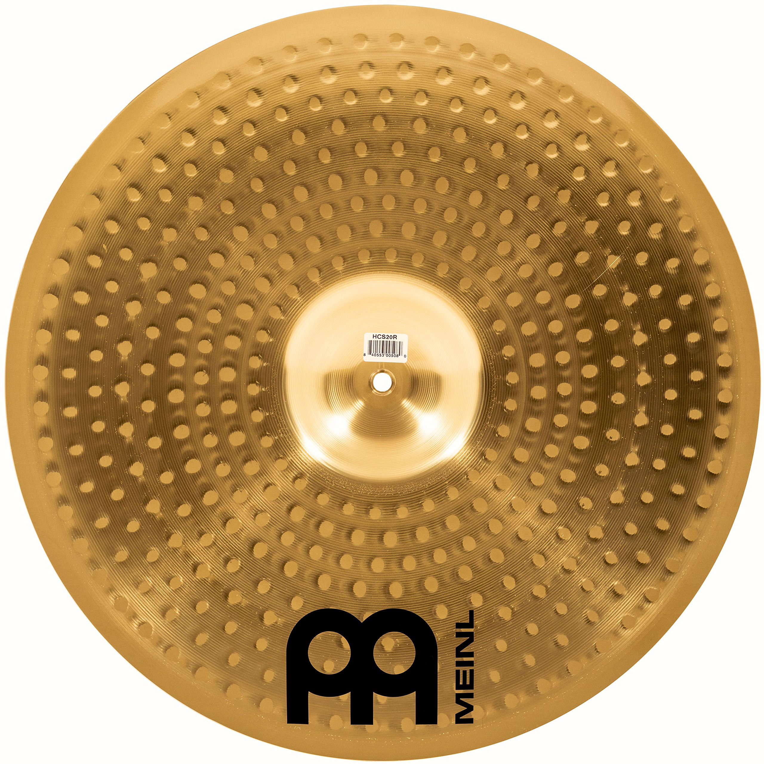 Meinl Cymbals HCS20R 20'' HCS Brass Ride Cymbal for Drum Set (VIDEO) by Meinl Cymbals (Image #2)