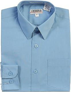 Gioberti Big Boy's Long Sleeve Solid Dress Shirt China DSP