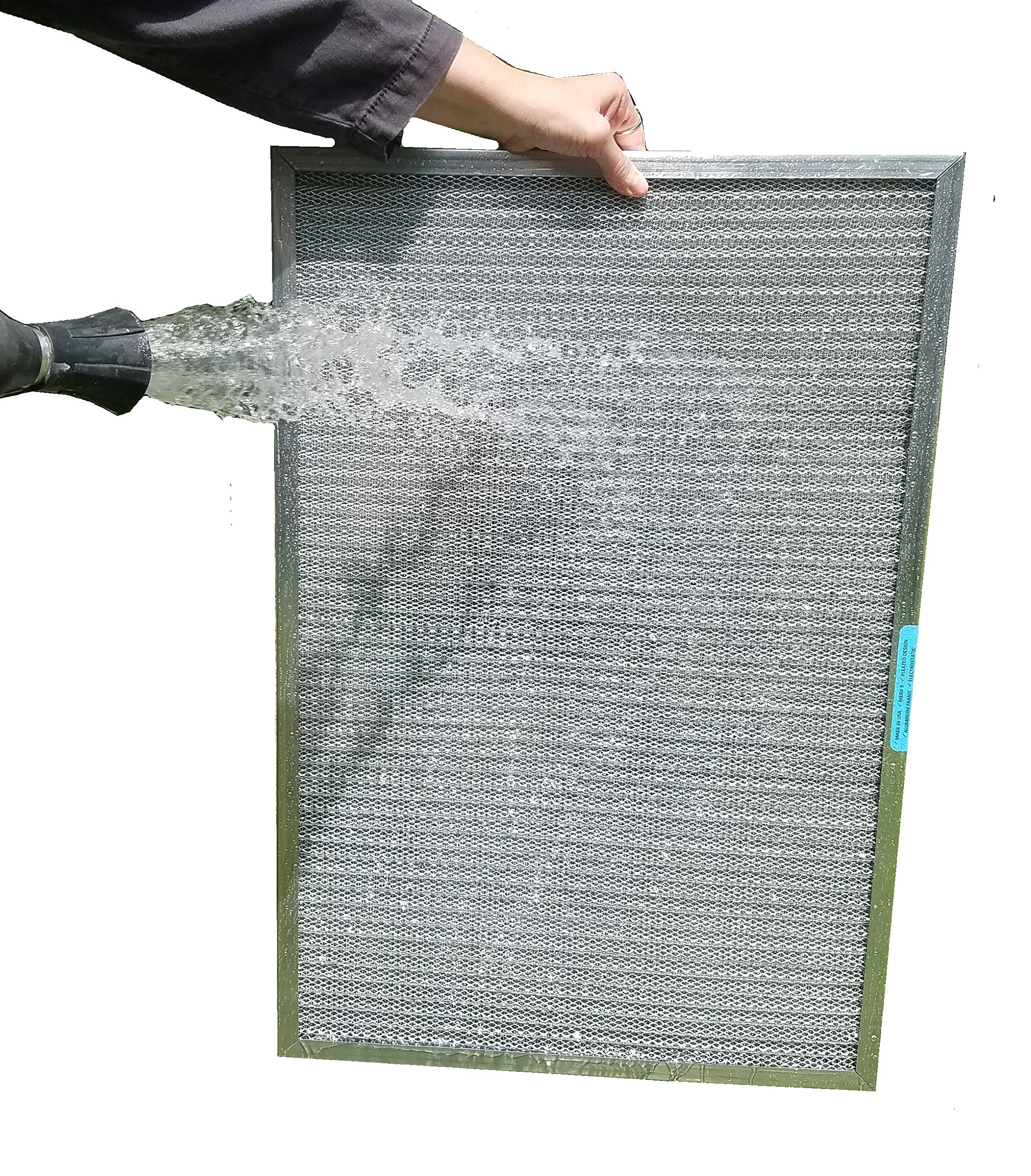 20x20x1 ALLERGY MAGNET WASHABLE FILTER - Highest MERV Rating in Permanent Electrostatic Furnace A/C Filters