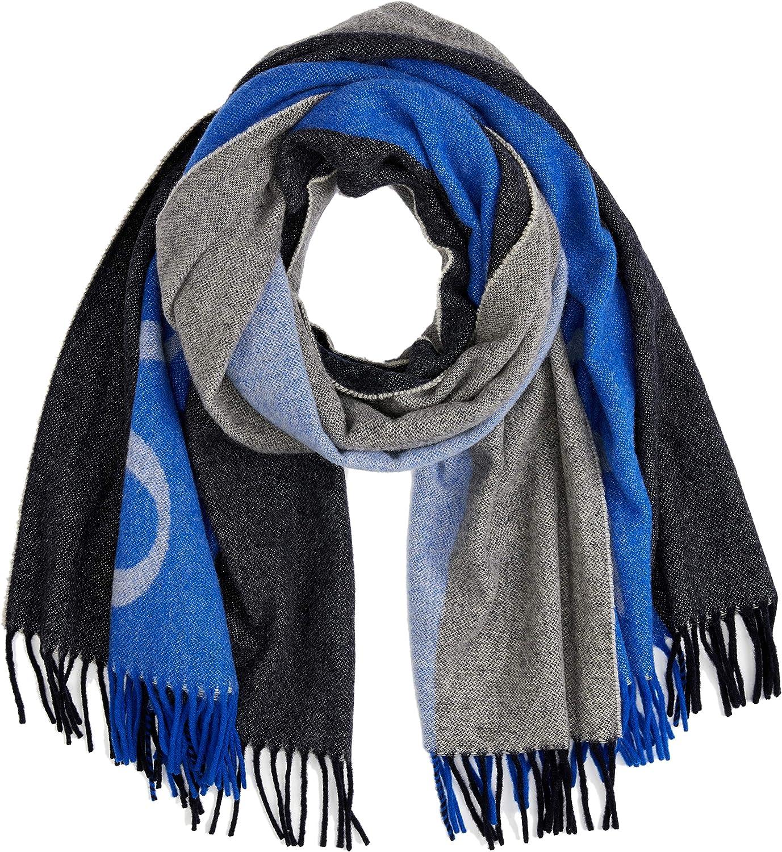 Marc OPolo 808816902153 Bufanda, Azul (combo E01), talla única ...