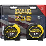 Stanley Consumer Tools FMHT74038 25' Fatmax Tape Measure (2 Pack)