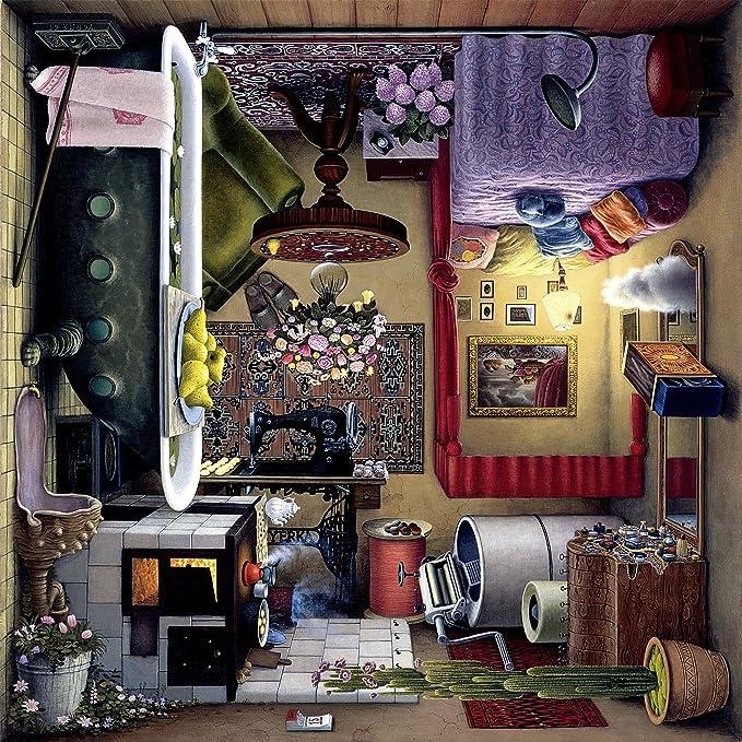 Jigsaw Puzzles 1000 Pieces Tectonic Jacek Yerka