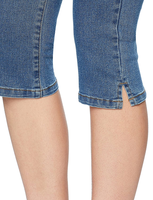 Vero Moda NOS Vmhot Seven Nw DNM Slit Knicker Mix Noos Pantalon Femme