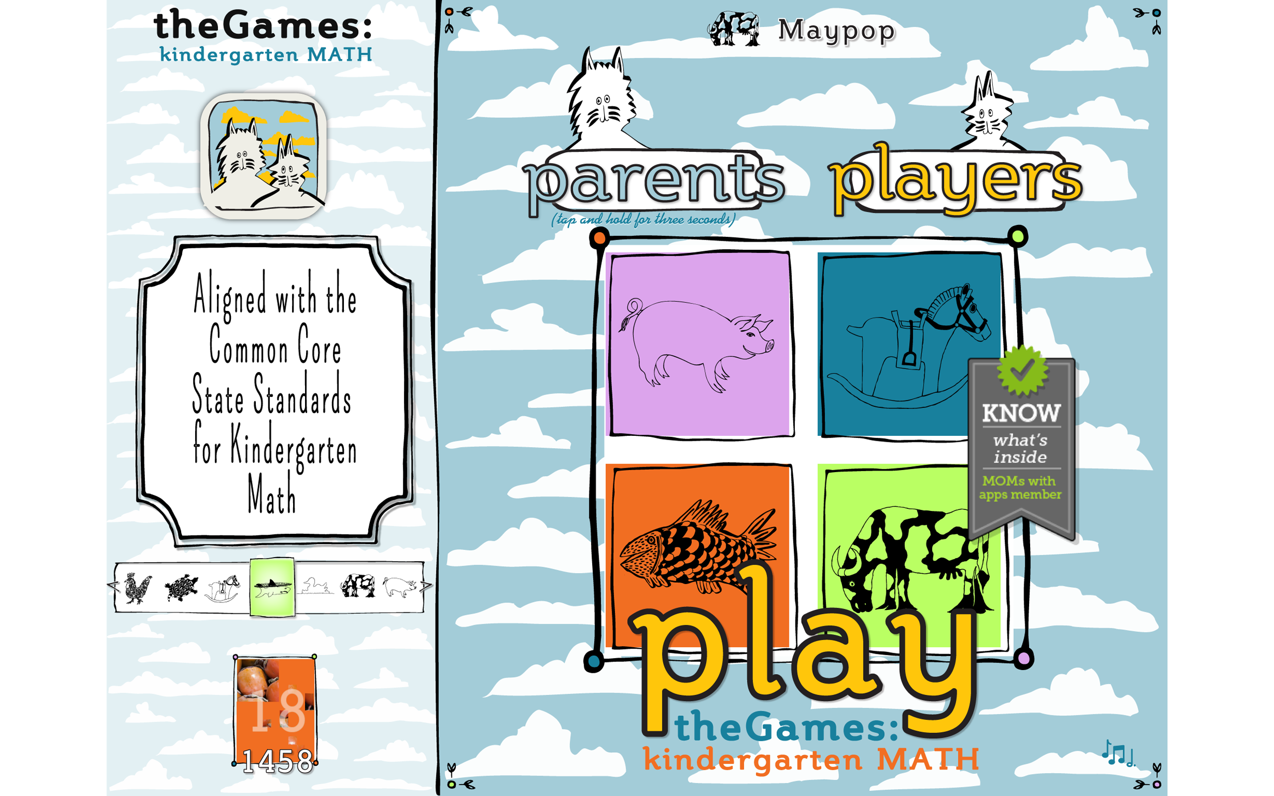 Amazon.com: theGames: Kindergarten Math (OLD VERSION): Appstore for ...