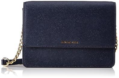 1aa9a6ebf5326 Michael Kors Daniela Large Saffiano Leather Crossbody Bag ...