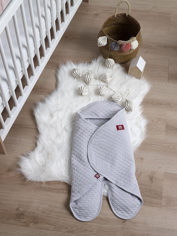 0-6 m Grey Dreamy Cloud 1.5 Tog Red Castle Babynomade Multipurpose Blanket//Wrap