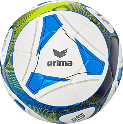 erima Hybrid Training Balón, Unisex Adulto, Royal/Lime, 5: Amazon ...