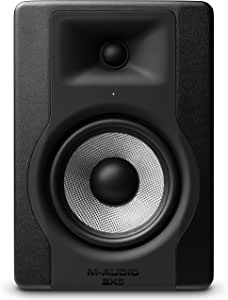 """M-Audio BX5 D3   Compact 2-Way 5"""" Active Studio Monitor Speaker for Music Production and Mixing With Onboard Acoustic Space Control, 1 piece"""