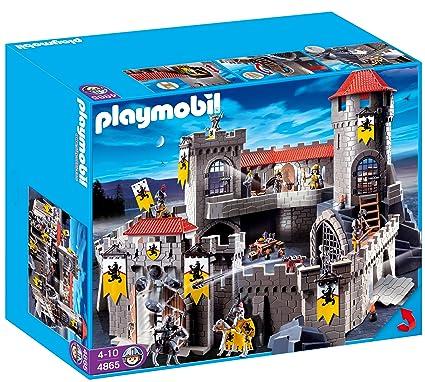 Amazon.com: Playmobil Lion Empire Knight s Castle: Toys & Games