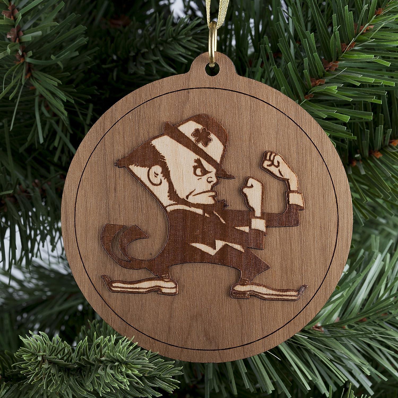 Amazon.com: Wooden Christmas Ornament, Christmas Tree Decoration ...