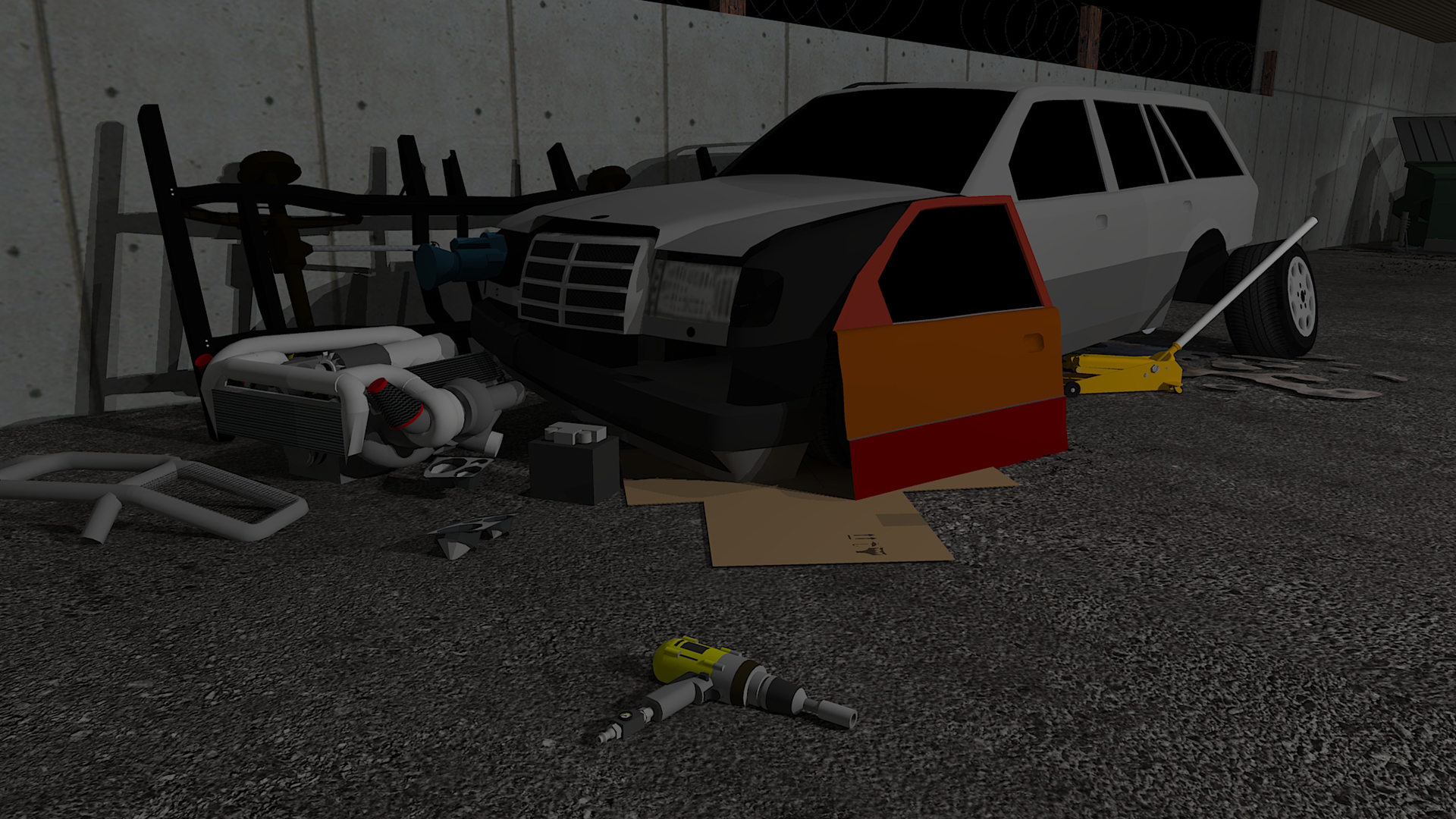 Amazon Com Fix My Car Zombie Survival Repair And Mod A Car To