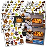 Star Wars Stickers Party Favors ~ Set of 2 Sticker Packs ~ 12 Sheets Over 240 Stickers plus Bonus Reward Stickers...