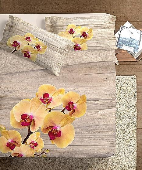 Copripiumino Orchidea.Ipersan Parure Copripiumino Fotografico Piazzato Fine Art 2 Piazze
