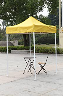 American Phoenix Canopy Tent 5x5 feet Party Tent [White Frame] Gazebo Canopy Commercial Fair & Amazon.com : American Phoenix Canopy Tent 5x5 feet Party Tent ...