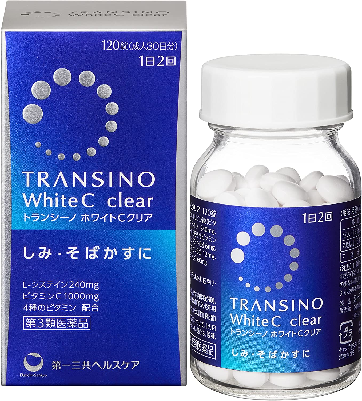【第3類医薬品】トランシーノ ホワイトCクリア 120錠